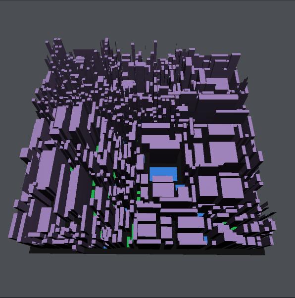 GitHub - medakk/procedural-city: Generate procedural cities and
