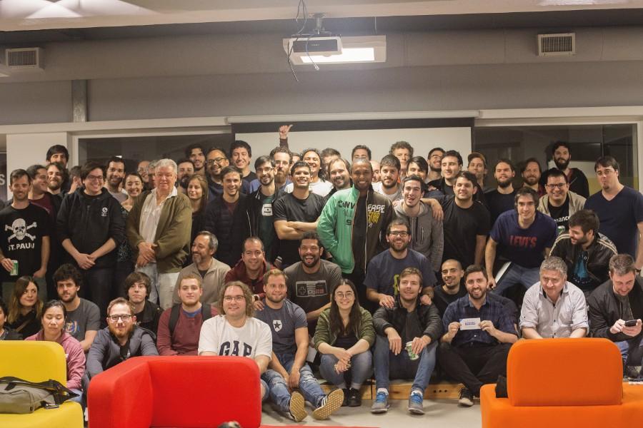 Foto de les asistentes del Meetup