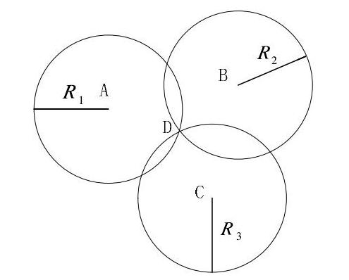 三边定位法