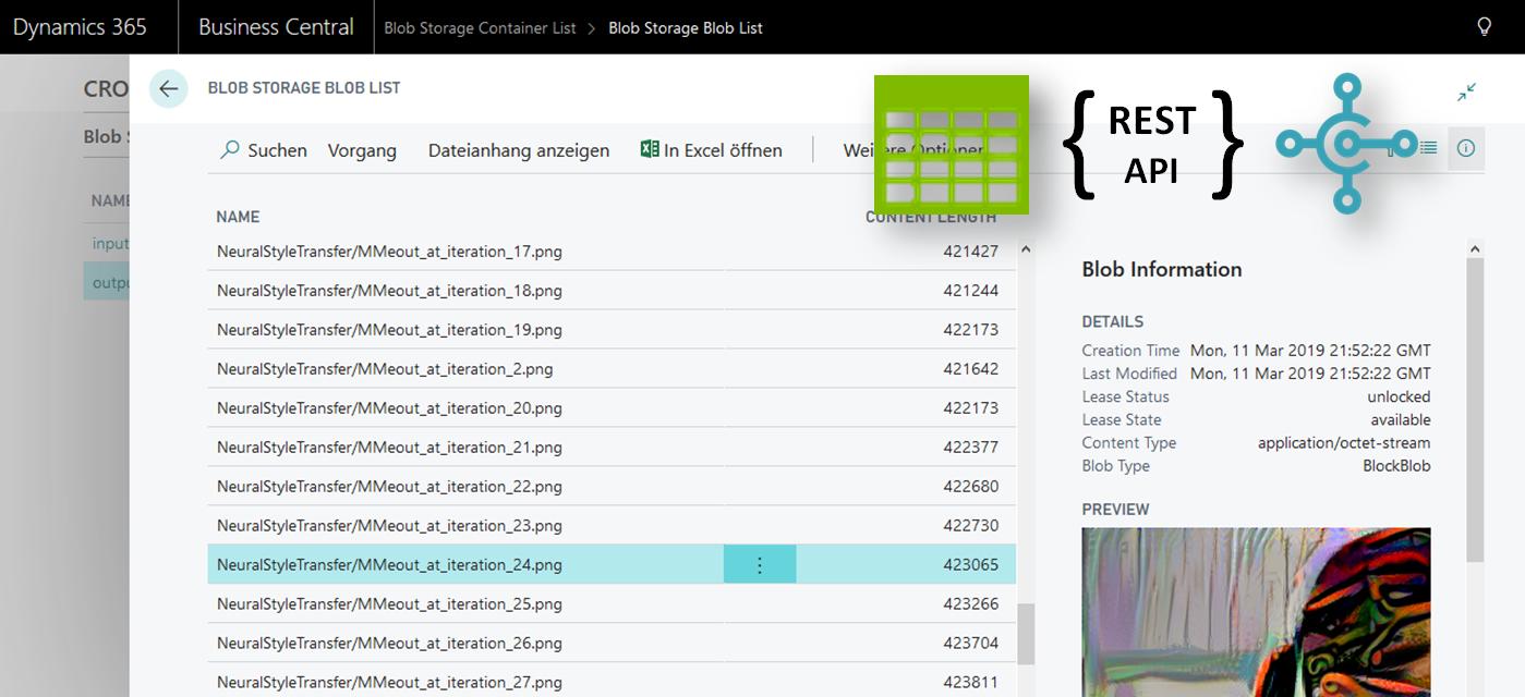 BlobService API