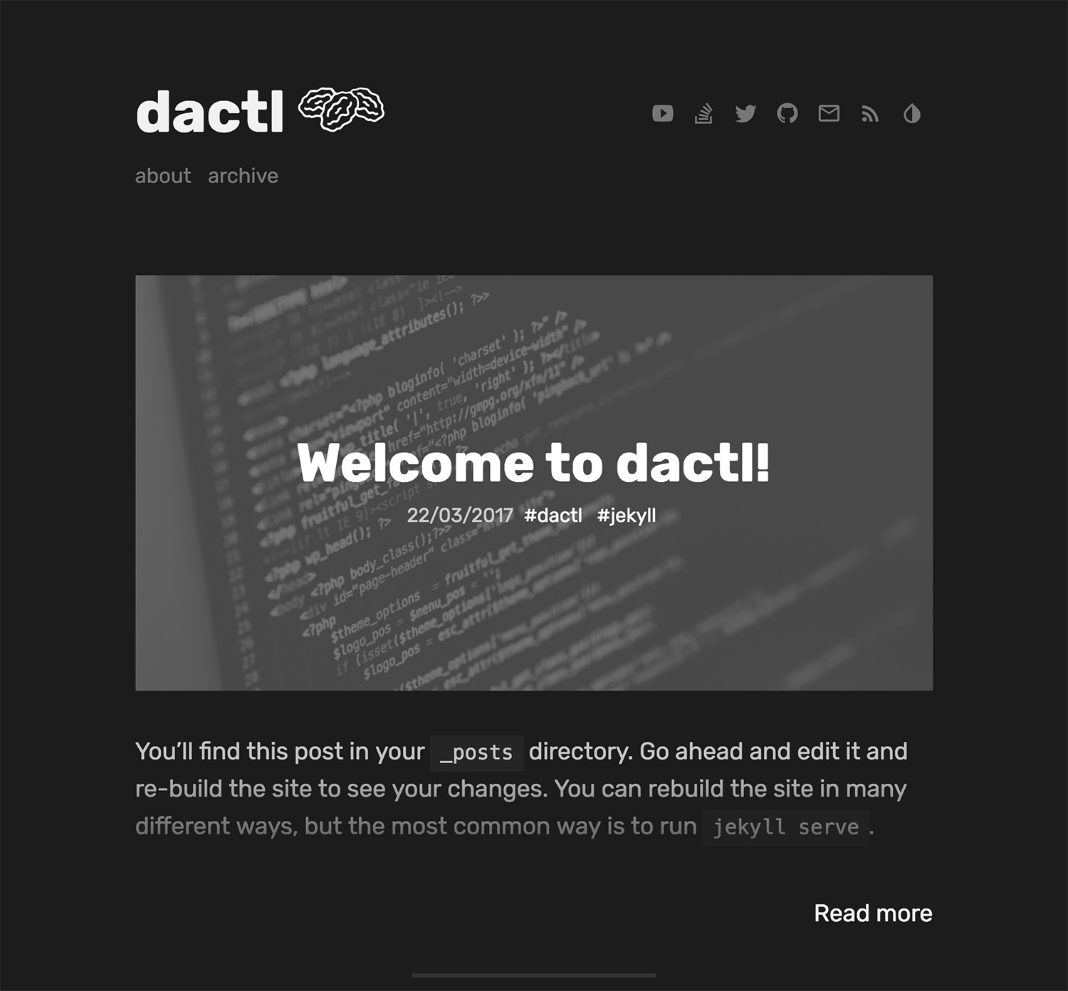 dactl live preview