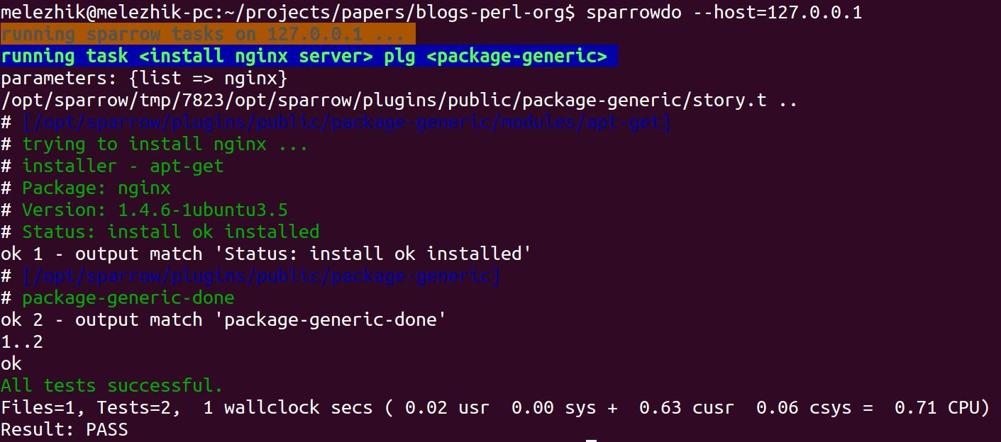 install nginx server