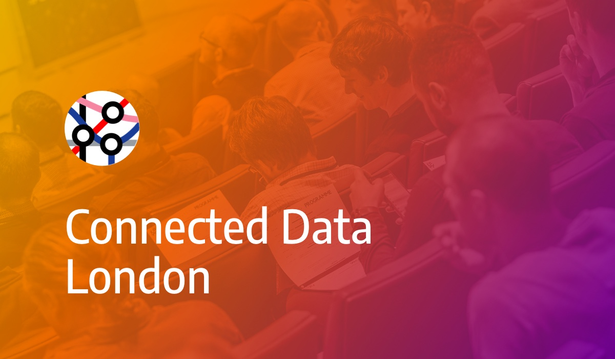 Join us at The Connected Data London Meetup on August 23rd 2018