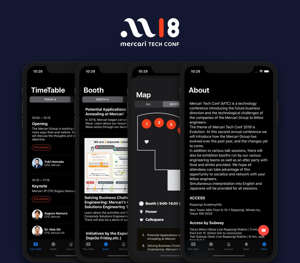 MTC2018 App SwiftUI
