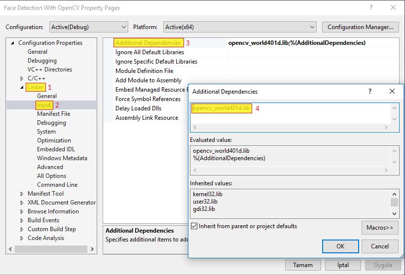 GitHub - mertguner/OpenCV-Face-Detection-With-Visual-Studio