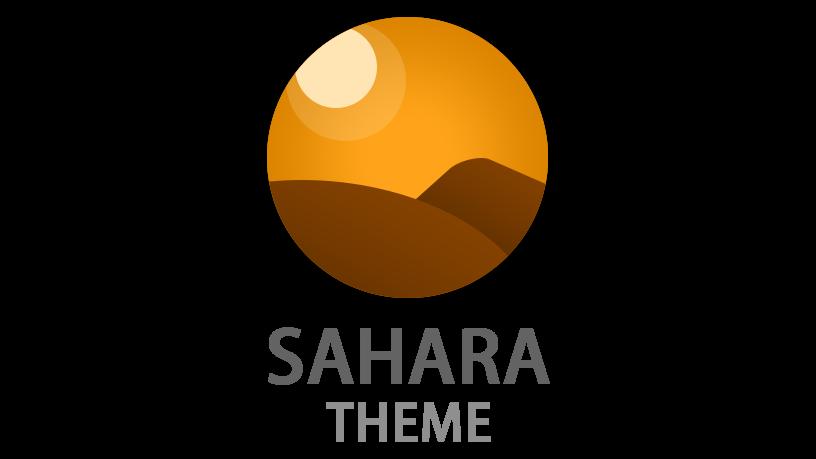 Sahara Theme Logo