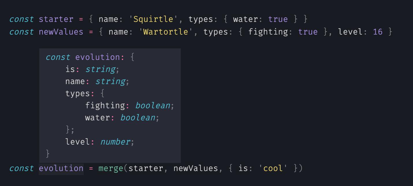 typescript support