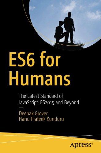 ES6 for humans - Apress book