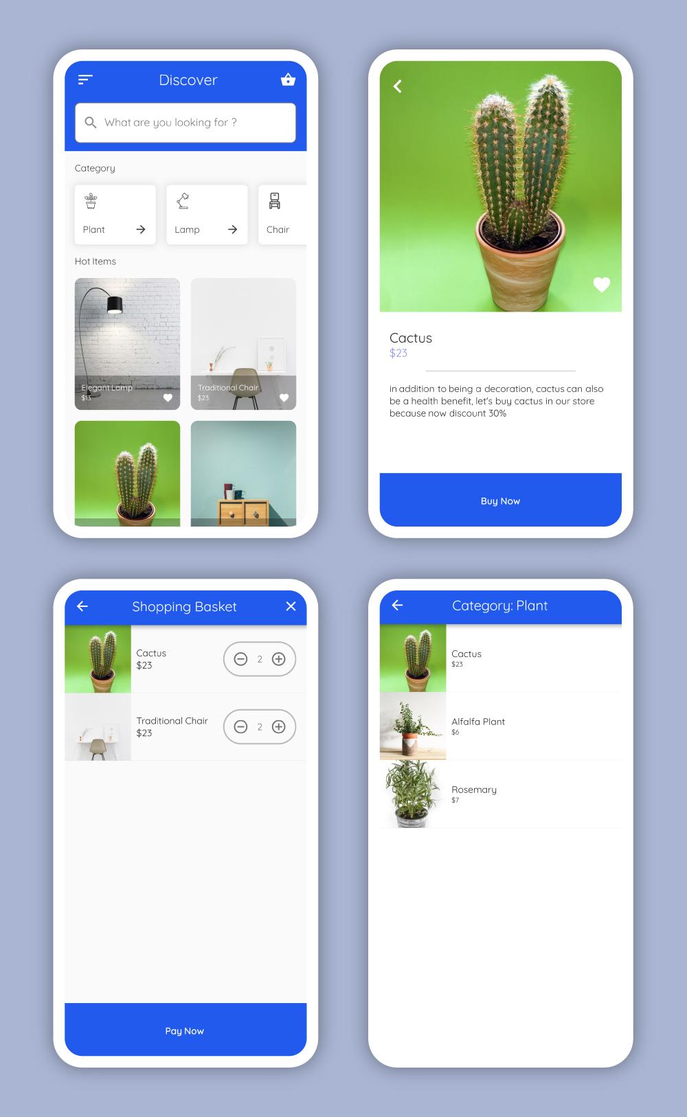 GitHub - mevans/flutter-furniture: A concept app based on