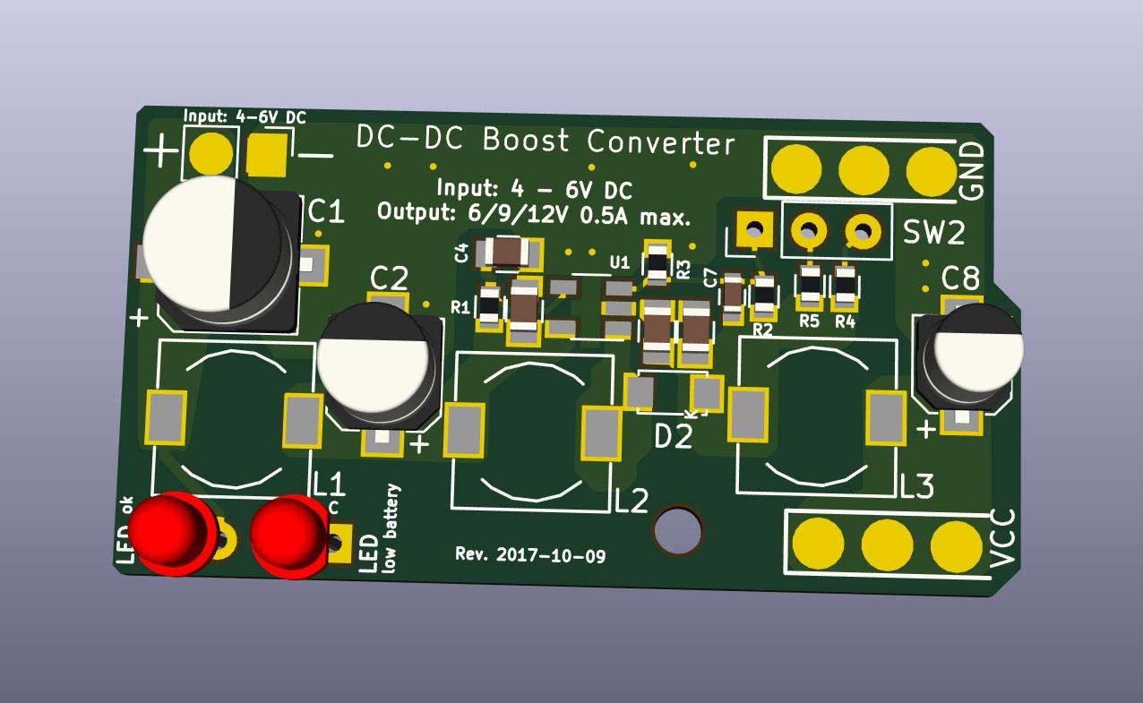 GitHub - mfhepp/gobox-power: A 6-9-12V DC-DC boost converter