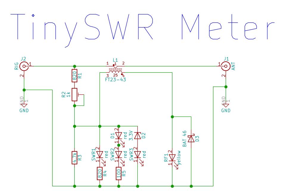 TinySWR Schematic