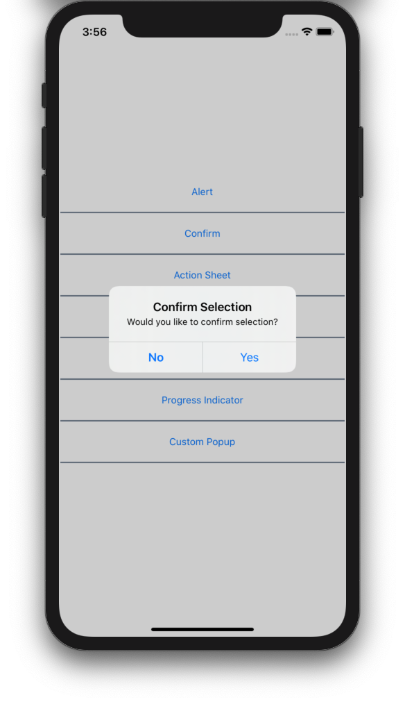 Using a confirmation dialog in Xamarin.Forms