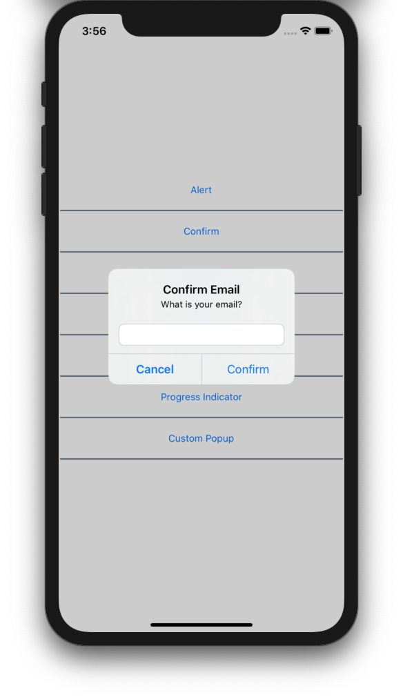 Using a prompt in Xamarin.Forms