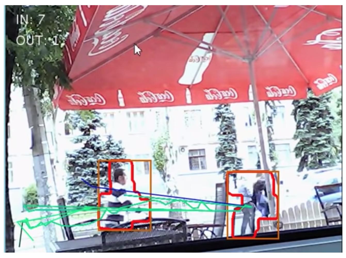 Ttracking pedestrians screenshot
