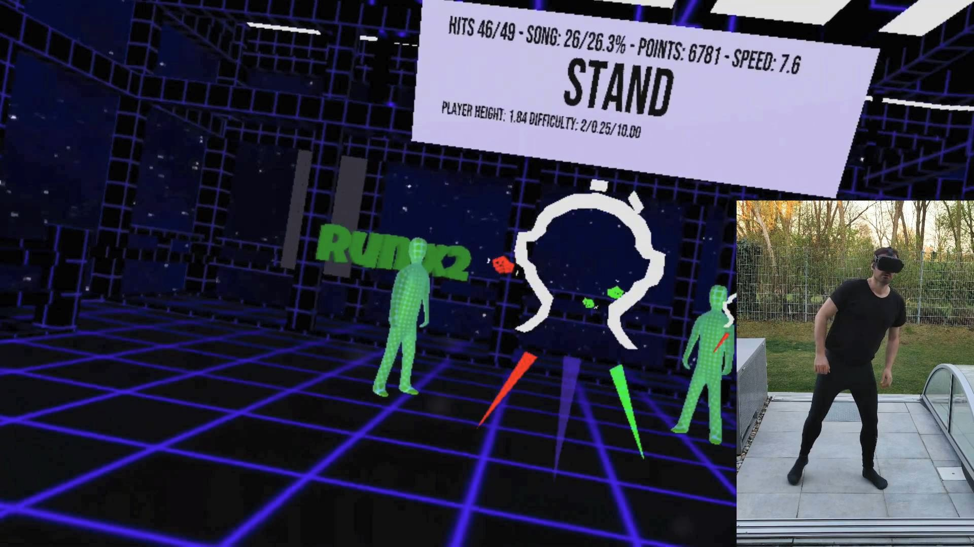 Stand head