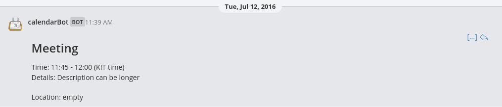 Example screenshot