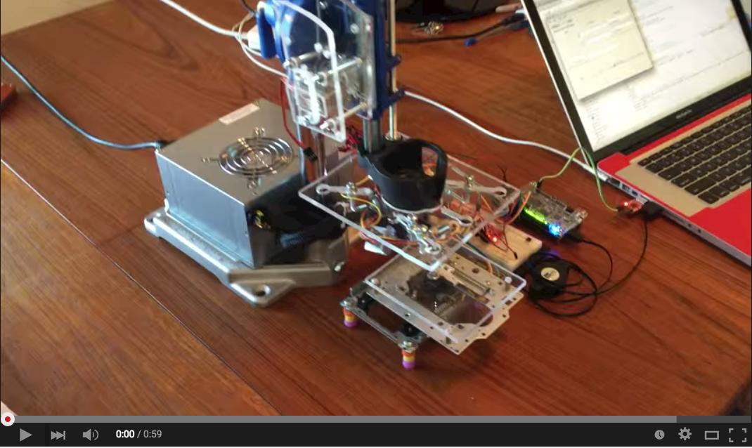GitHub - mhouse1/mechsoftronic: FPGA based CNC Machine