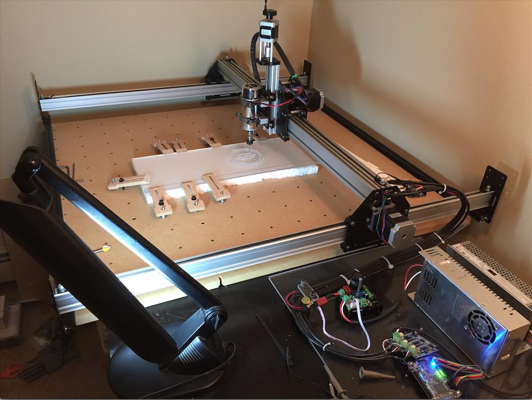 CNC machine prototype hardware 2