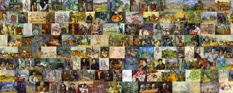 Cézanne quilt