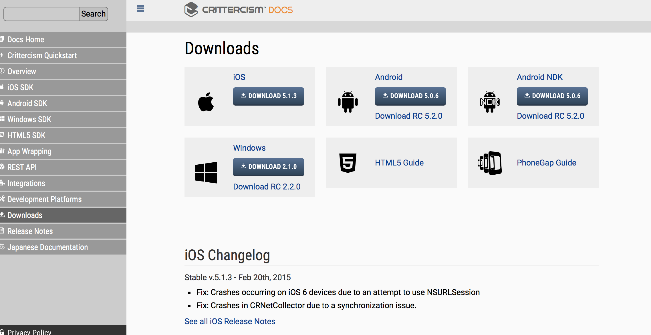 crittercism android sdk