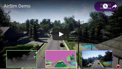 AirSim Drone Demo Video