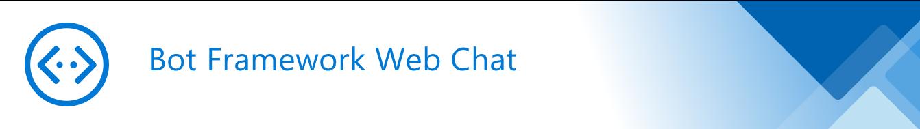 Bot Framework Web Chat