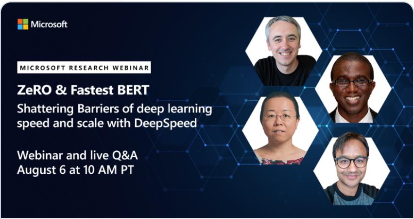 DeepSpeed webinar