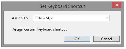 Assign Shortcut