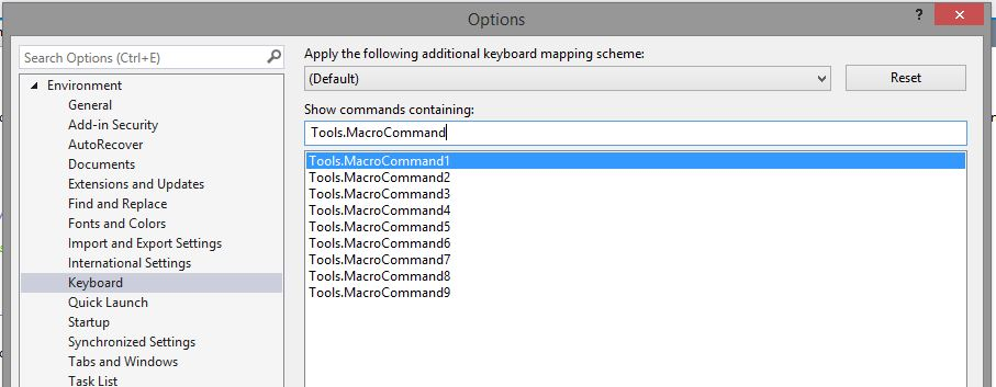 Search for Tools.MacroCommand#