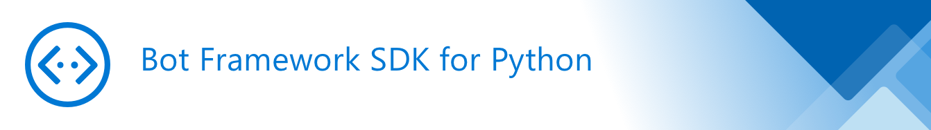 Bot Framework SDK v4 Python