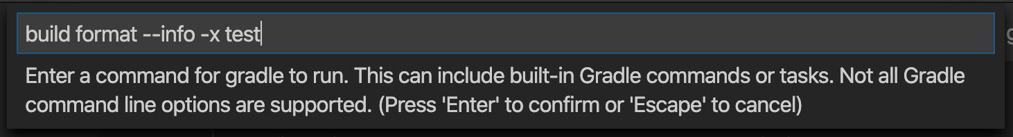 Run Gradle Build