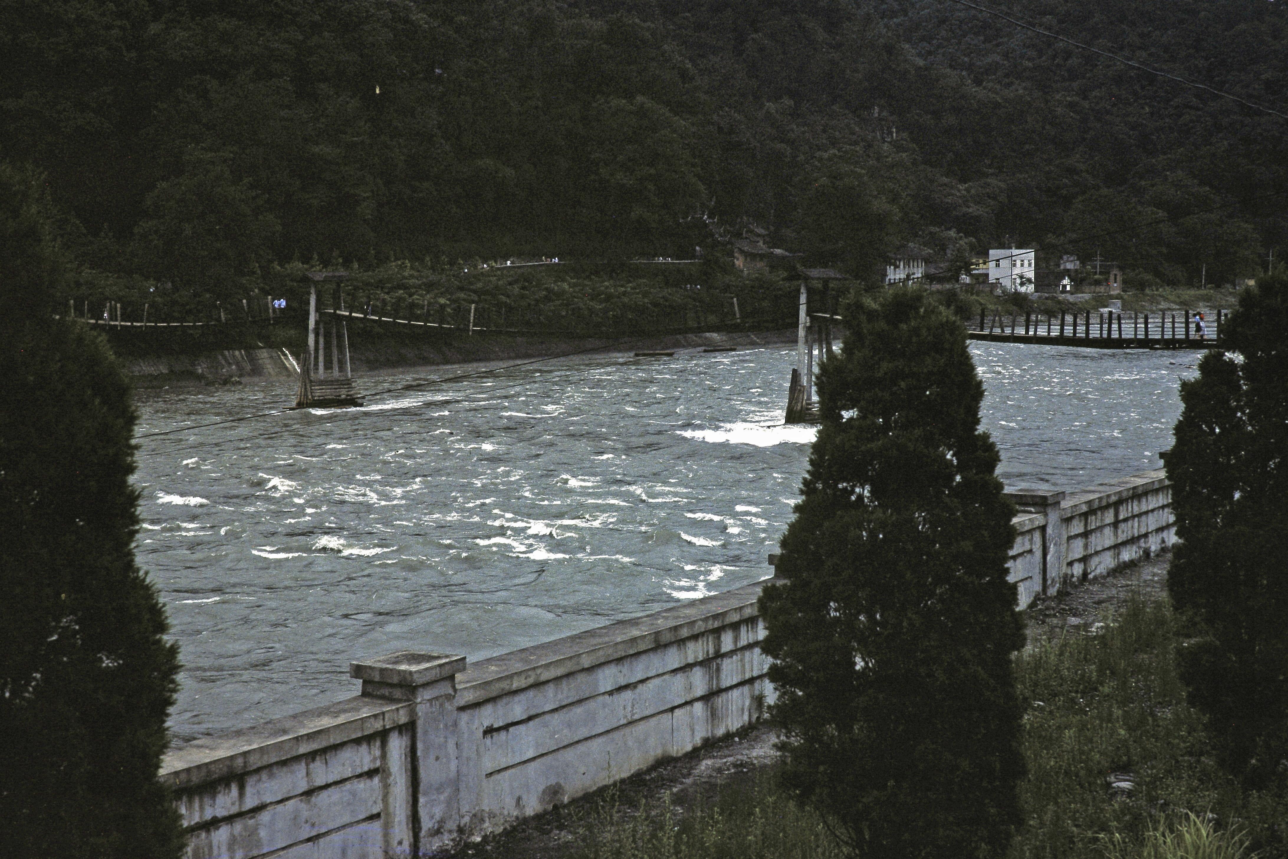 Anlan Wire Suspension Bridge