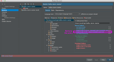 Fix bug in IntelliJIDEA when using avro Avro
