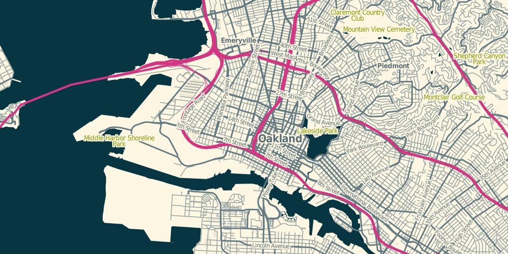 Oakland, z13