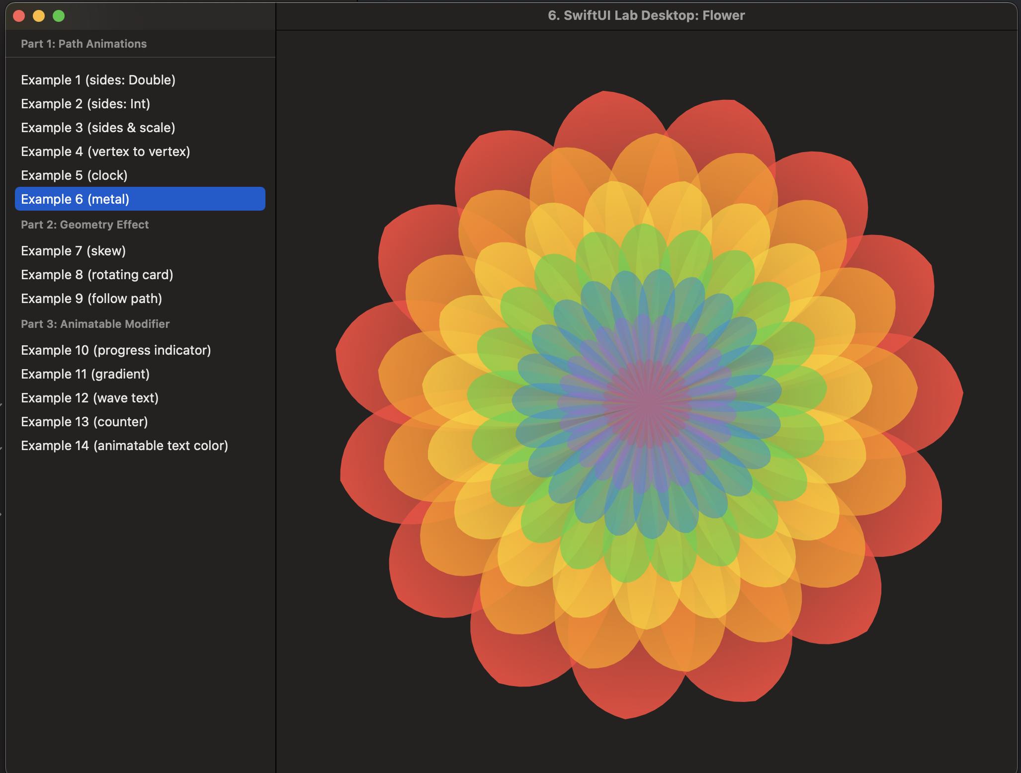 SwiftUI Lab on macOS