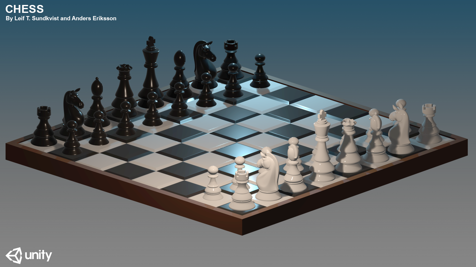 Chess by Anders Eriksson and Leif T. Sundkvist