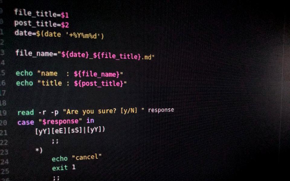 programing image