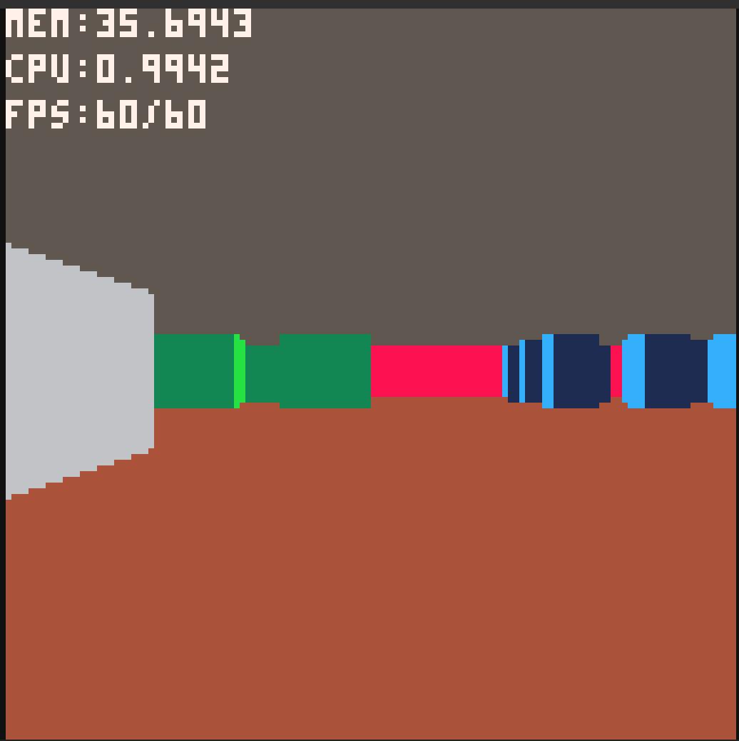 PICO-8 Doom 3D Clone Test