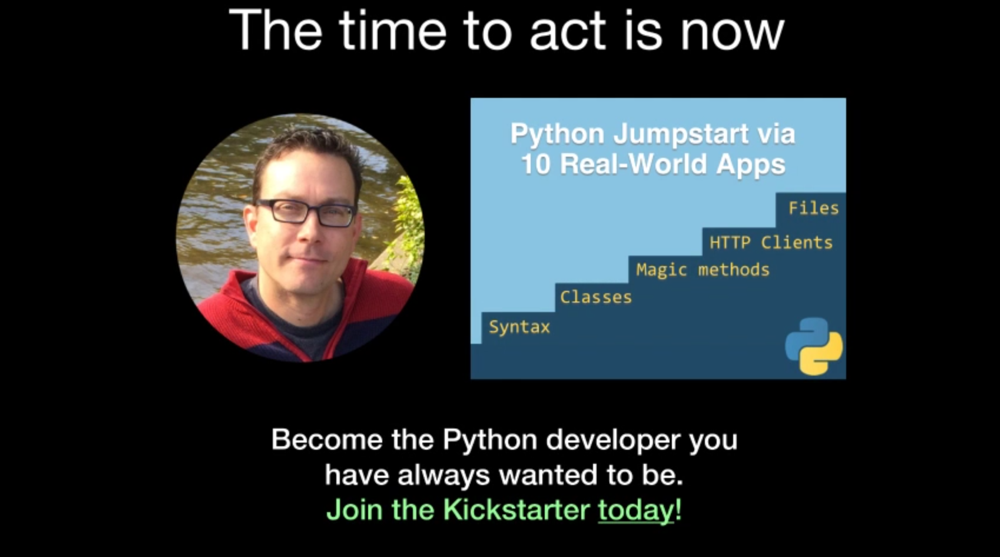 Learn more about Python Jumpstart by Building 10 Apps Course