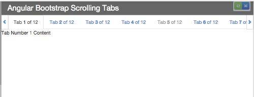 GitHub - mikejacobson/angular-bootstrap-scrolling-tabs: AngularJS