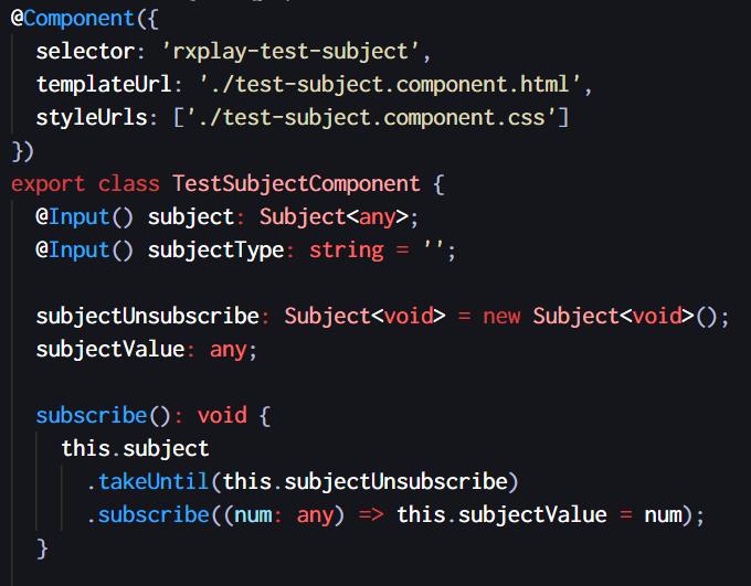 Typescript Example
