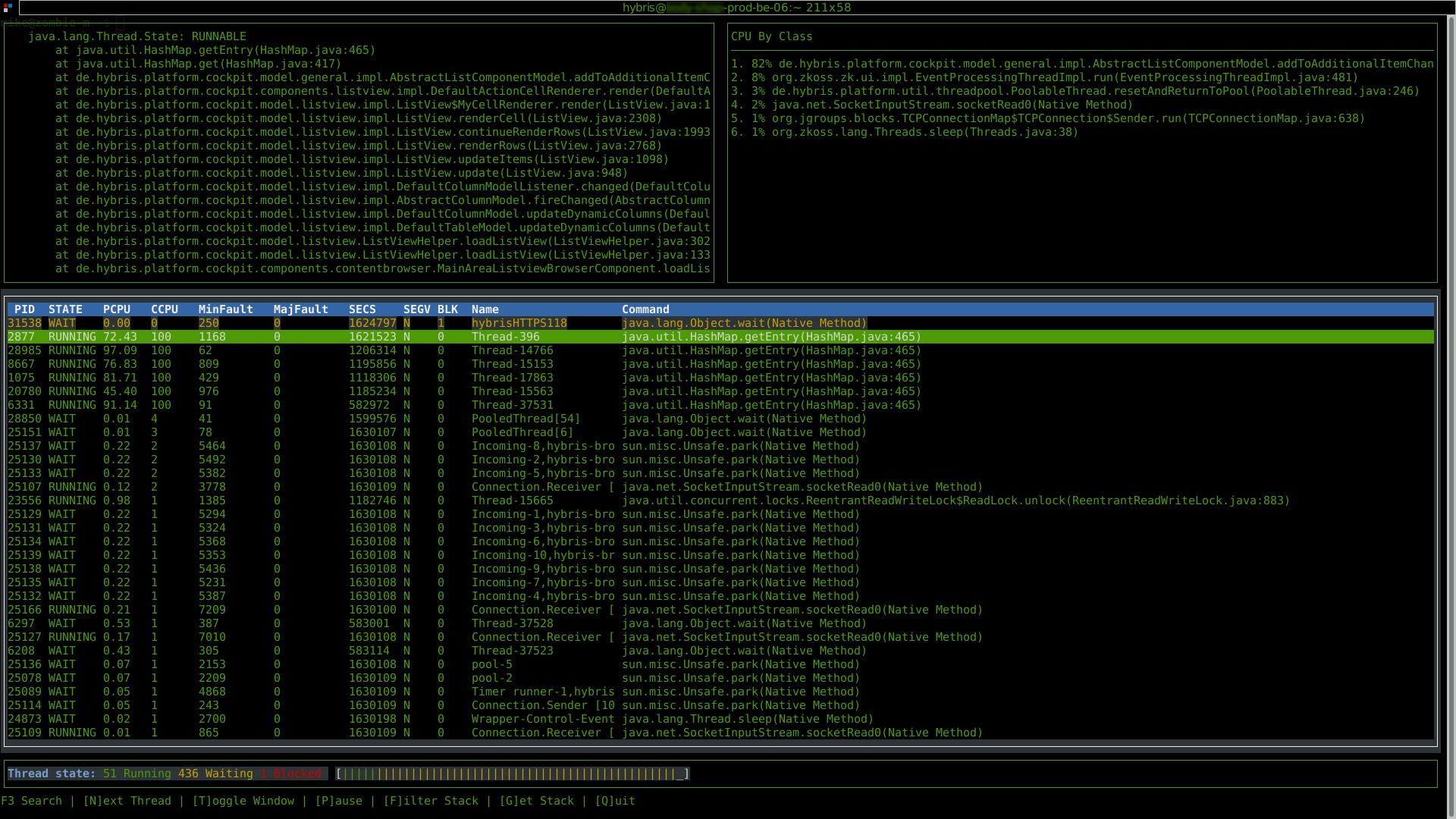 GitHub - mikejonesey/jtop: jtop is a free (GPL) ncurses-based java