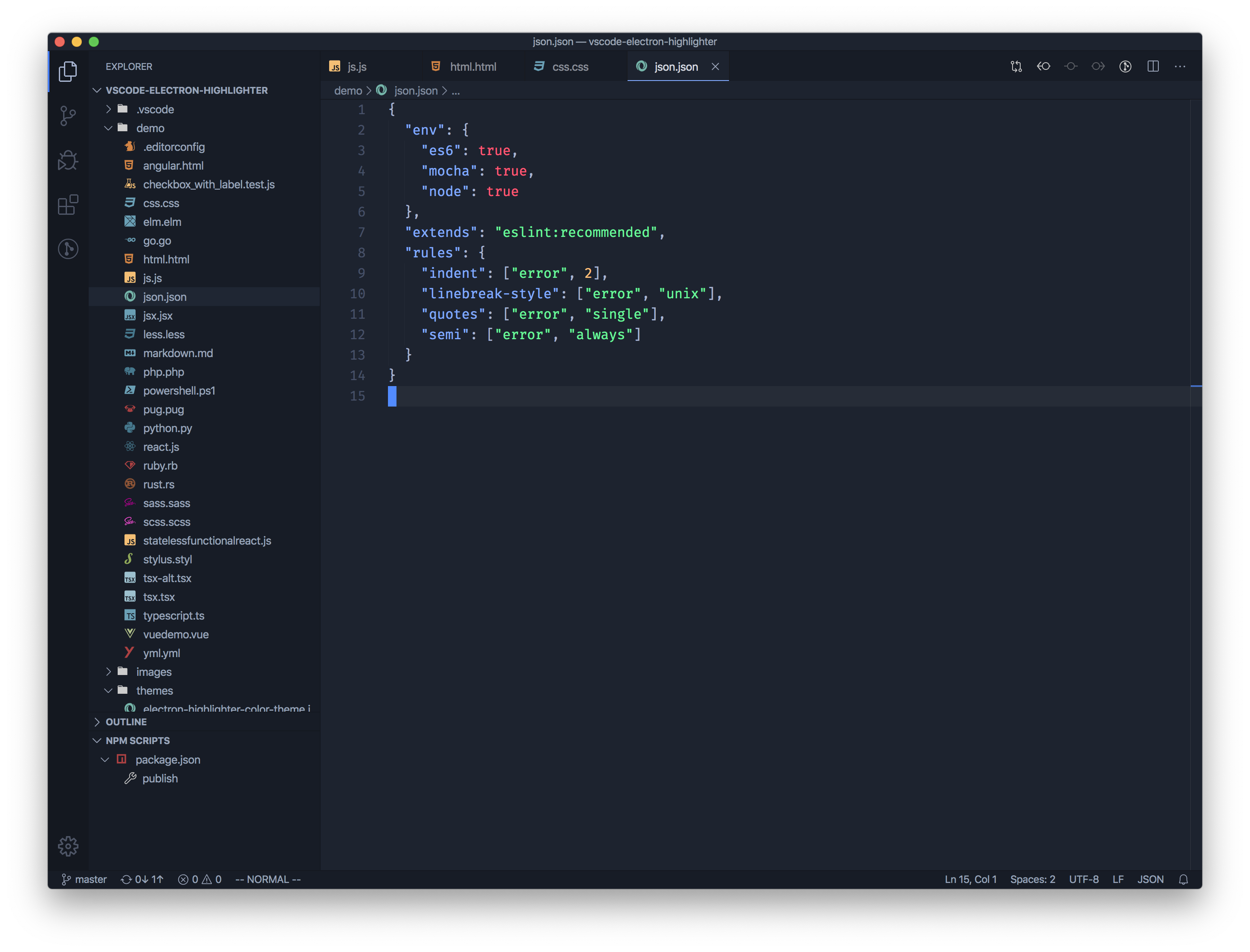 JSON ScreenShot