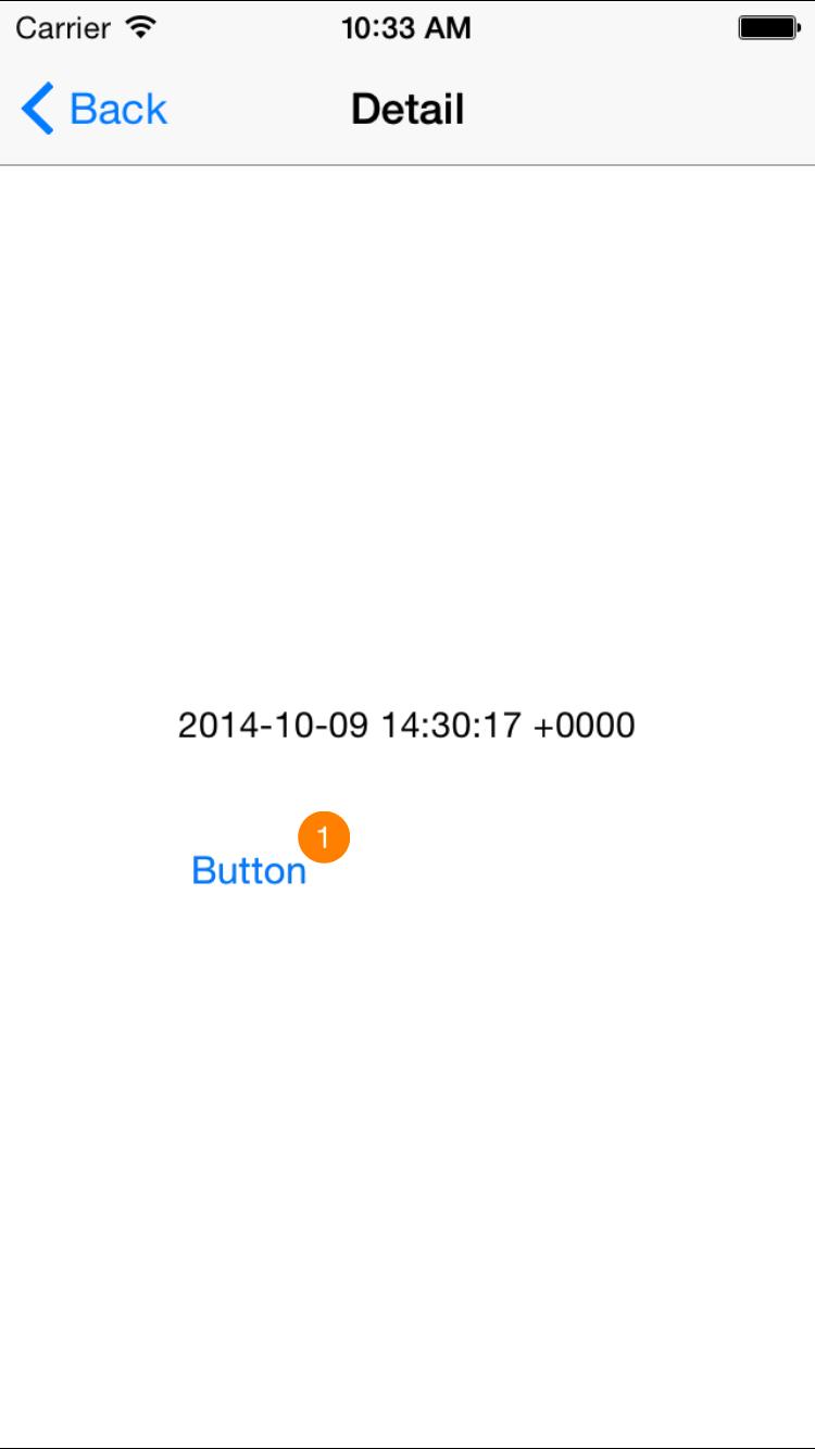 ScreenShot BarButtonItem