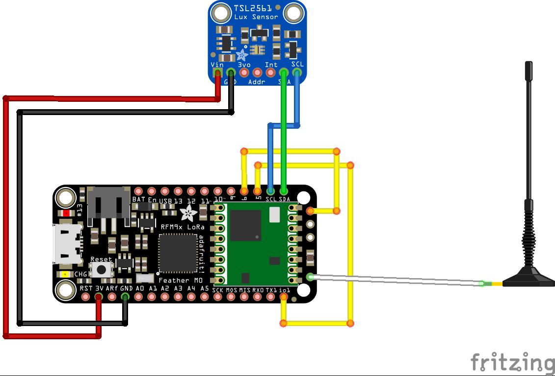 TLS2561  wiring