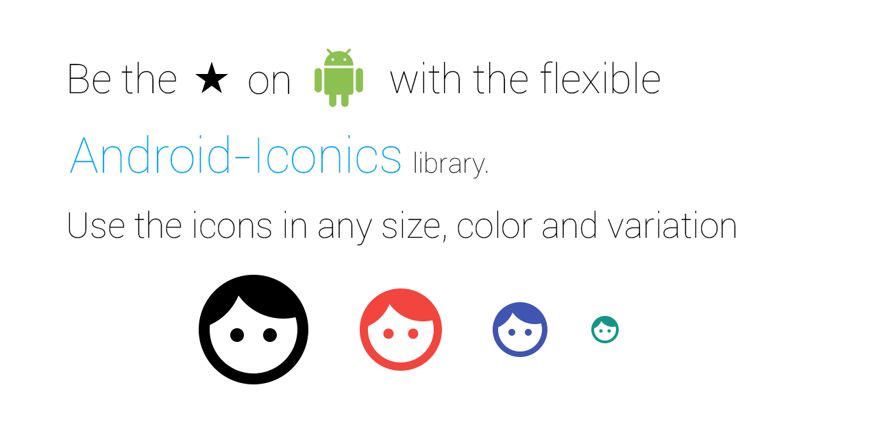 GitHub - mikepenz/Android-Iconics: Android-Iconics - Use any icon