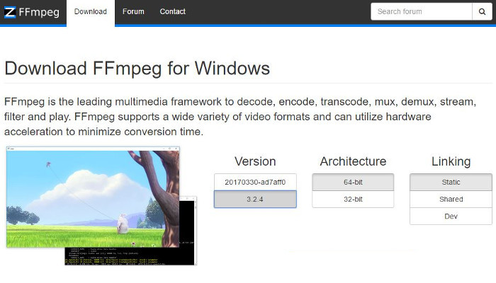 get ffmpeg for windows
