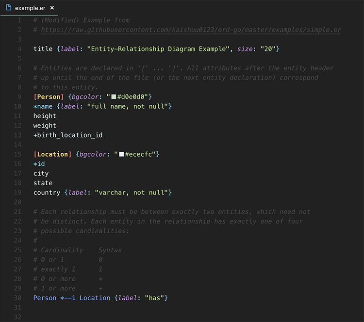 Preview syntax highlight