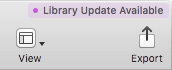 Library updates available