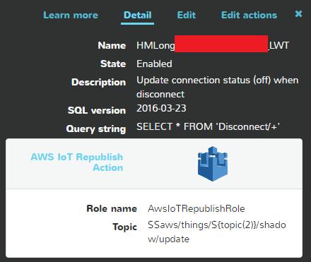 AWS - IoT Rule